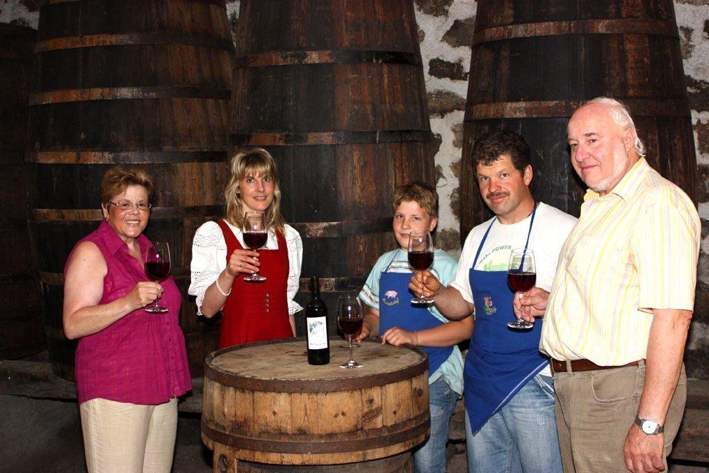 Weinkeller auf dem Marxhof